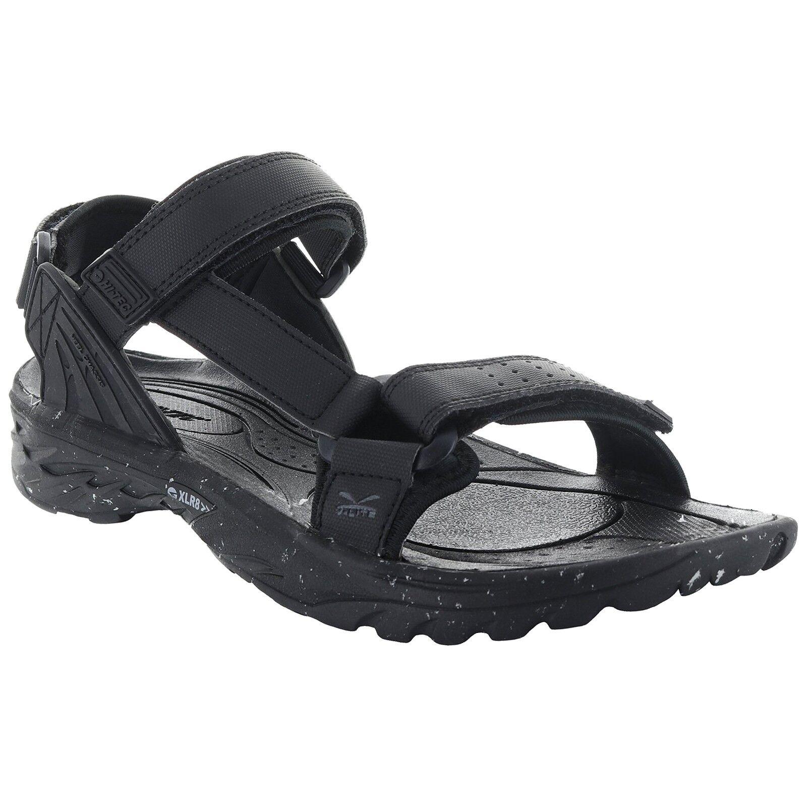 Herren HI-TEC WILD-LIFE VYPER BLACK LIGHTWEIGHT ADJUSTABLE WALKING STRAP WALKING ADJUSTABLE SANDALS f9a60c