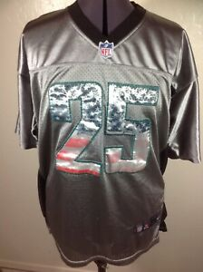 8a03d407 Details about Philadelphia Eagles Jersey McCoy #25 Gray Nike NFL Players  Faded Flag 44
