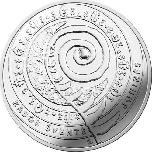 "Rasos/"" UNC Lithuania 1,50€ euro coin 2018 /""Jonines"