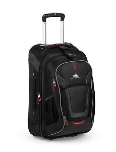 Free postage. Image is loading High-Sierra-AT7-Carry-on-Wheeled -Backpack-with- 7cb2cf374fdb9