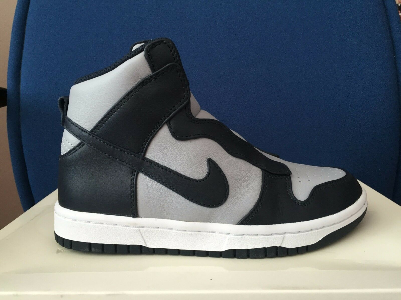 200 Womens Womens Womens Nike NikeLab x Sacai Dunk Lux Sz 5.5 Grey Navy bluee White 776446 440 707f4f