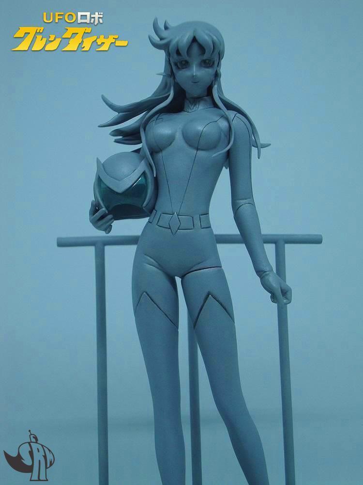 UFOロボグレンダイザー Grendizer oroorak - Maria Grace Fleed グレース・マリア・フリード resin kit 1:8