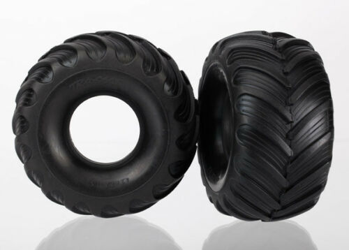 1//16 Summit VXL NEW Traxxas 7267 Dual Profile Tires Grave Digger *SHIPS FR 2