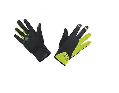 Gore Bike Wear Power Gws Gloves Black/neon Yellow Eu Size 7 Weder Zu Hart Noch Zu Weich