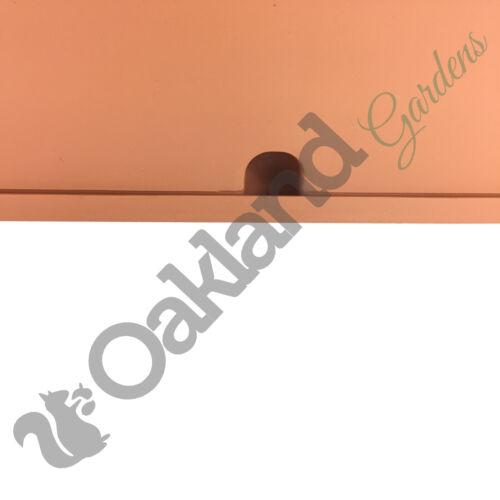 3 x 80cm Trogolo Fioriera scatola di finestra VERSILIA POT Davanzale Drip piattino pianta