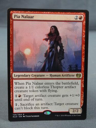 Kaladesh Pia Nalaar MTG Magic the Gathering Card X1 Human Artificer EX//NM