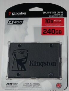 """Kingston 120GB 240GB 480GB Internal SSD Solid State Drive SATA3 6,4cm 2.5"""" A400"""