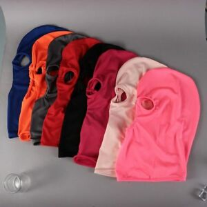 Lycra-Balaclava-3-HOLE-Full-Face-Mask-Windproof-Men-Women-Ski-Neck-Protection-UK