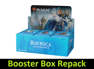 Details about Ravnica Allegiance Booster Box Repack - RNA - MTG -  Guaranteed 2 Mythics