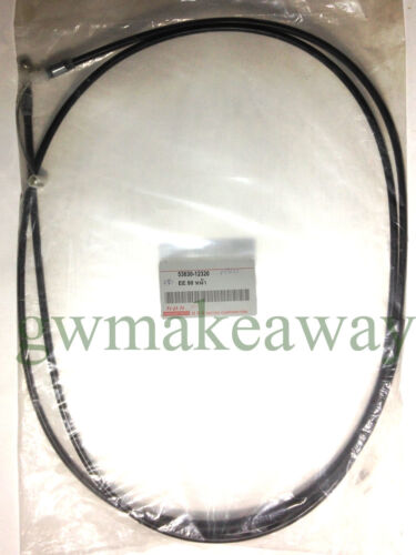 Toyota COROLLA EE90 AE90 front bonnet hood release cable no.53630-12320