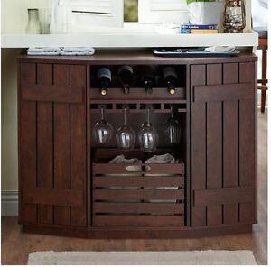 Liquor Storage Cabinet Home Bar Furniture Mini Buffet ...
