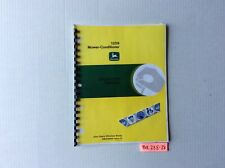 John Deere 1209 Mower Conditioner Operators Manual Ome58500