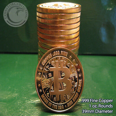 1 Ounce .999 Copper Round Easter Bunny 5 Coins
