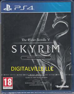 The Elder Scrolls V Skyrim Special PS4 Brand New factory Sealed PlayStation 4