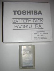 Genuine-Toshiba-Brand-T1200-NiCd-Main-Battery-Pack-NEW-Vintage