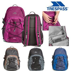 Trespass-Mens-Womens-Backpack-Hiking-Camping-Casual-Rucksack-for-Work-30L
