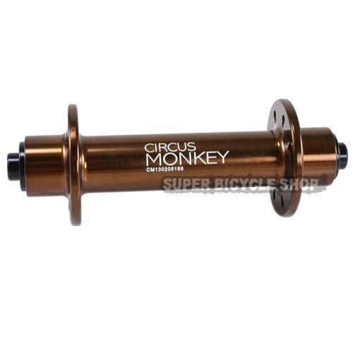 Circus Monkey HRW Road Hubs 28 Hole,1 Pair Brown