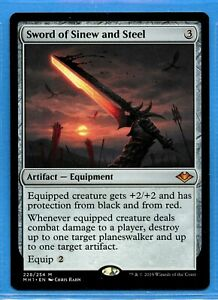 Sword of Sinew and Steel x1 Magic the Gathering 1x Modern Horizons mtg card