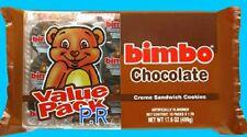 Bimbo Chocolate Cream Sandwich Cookies Galletas Candy Sweets Puerto Rico 1 pack