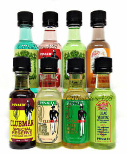 CLUBMAN-PINAUD-Mini-Size-1-7oz-Set-of-6-Bottles-Pick-Any-Scent