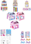 Unicorn Themed Filled Party Boxes or Bags toys gifts favours puzzle bubbles