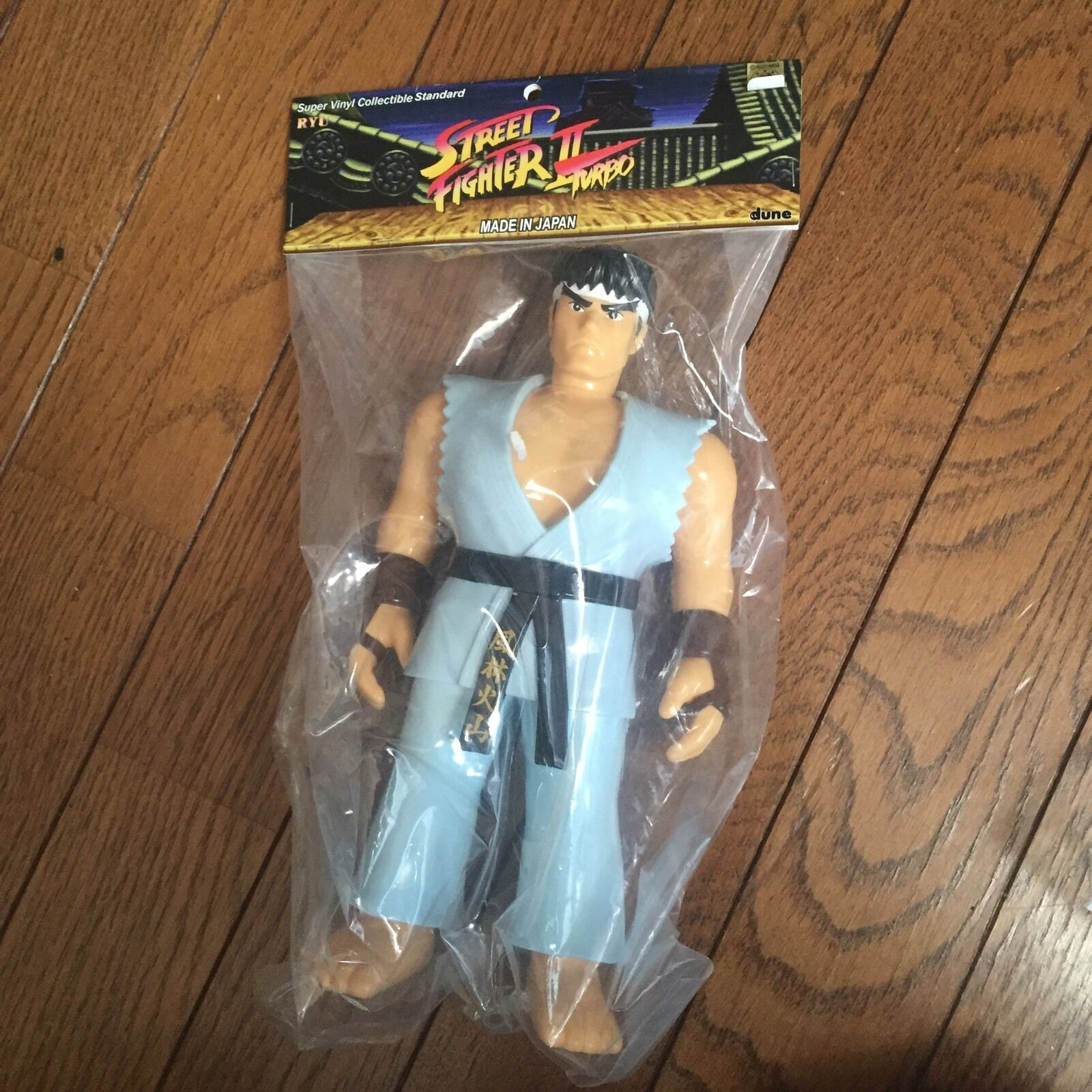 Street Fighter Action Figure   RYU   SOFT VINYL Turbo color cacom
