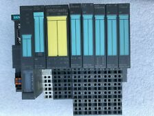 Siemens SIMATIC S7 PLC with 8 modules