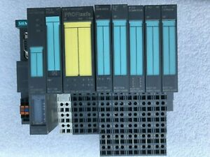 Siemens-SIMATIC-S7-PLC-with-8-modules