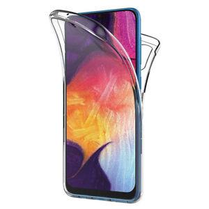 "Coque Silicone Protection 360° Avant et Arrière Samsung Galaxy A50 SM-A505F 6.4"""