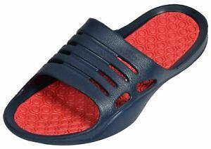 100% Wahr Mens Sandals Flip Flop Pool Beach Light Weight Slipper Water Proof Mules Im Sommer KüHl Und Im Winter Warm