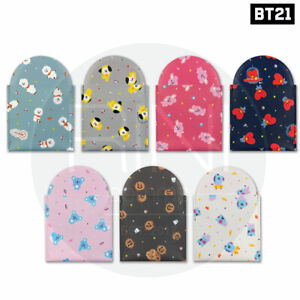 BTS-BT21-Official-Authentic-Goods-Pouch-Mirror-By-Monopoly-Tracking-Number