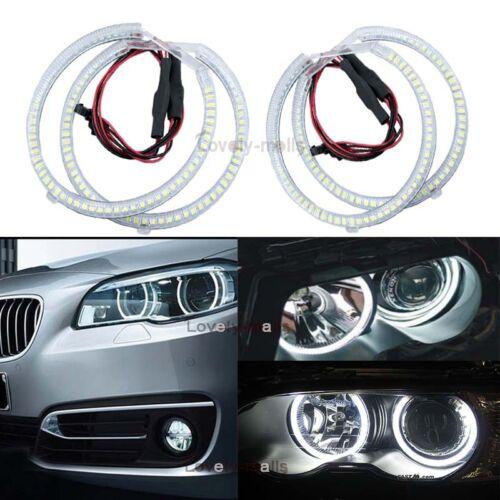 White Angel Eye Halo Light Error Free LED for BMW E46 E39 E38 E36 3 5 7 series