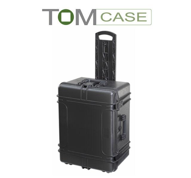 Outdoor Case Trolley, Kamerakoffer Fotokoffer wasserdicht IP67 mit Rasterschaum