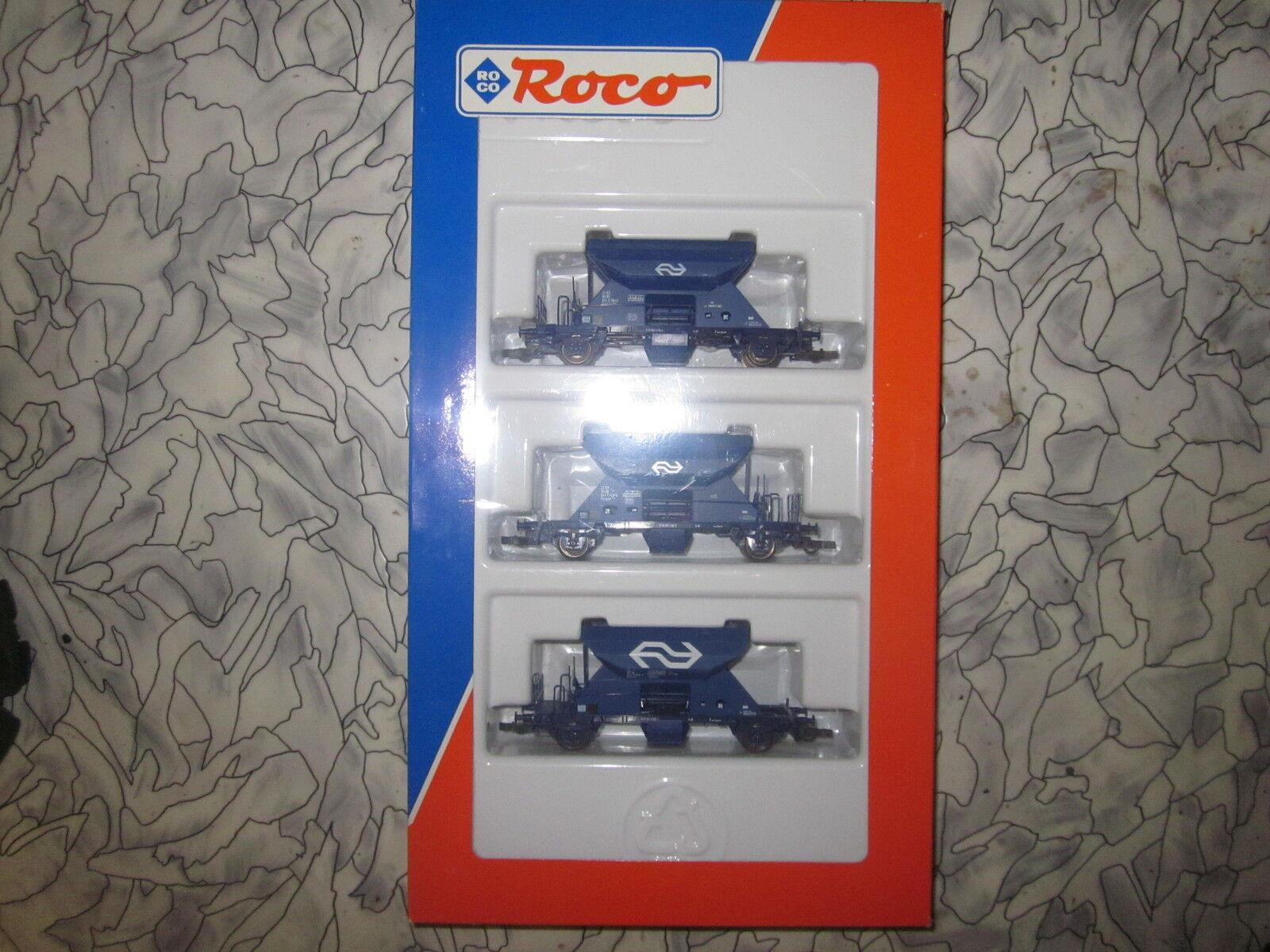 Roco Set de Vagones de NS Art.nr  44037 Nuevo+Emb.orig