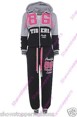 NEW Plus Size 16 18 20 22 24 Womens TRACKSUIT Hoodie POCKET Ladies SUIT Trousers