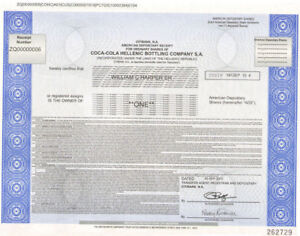 Coca-Cola-Hellenic-Bottling-Company-gt-Greek-stock-certificate-Greece-share
