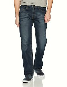 Signature-By-Levi-Strauss-amp-Co-Gold-Label-Men-039-s-Relaxed-Fit-Stretch-Jeans