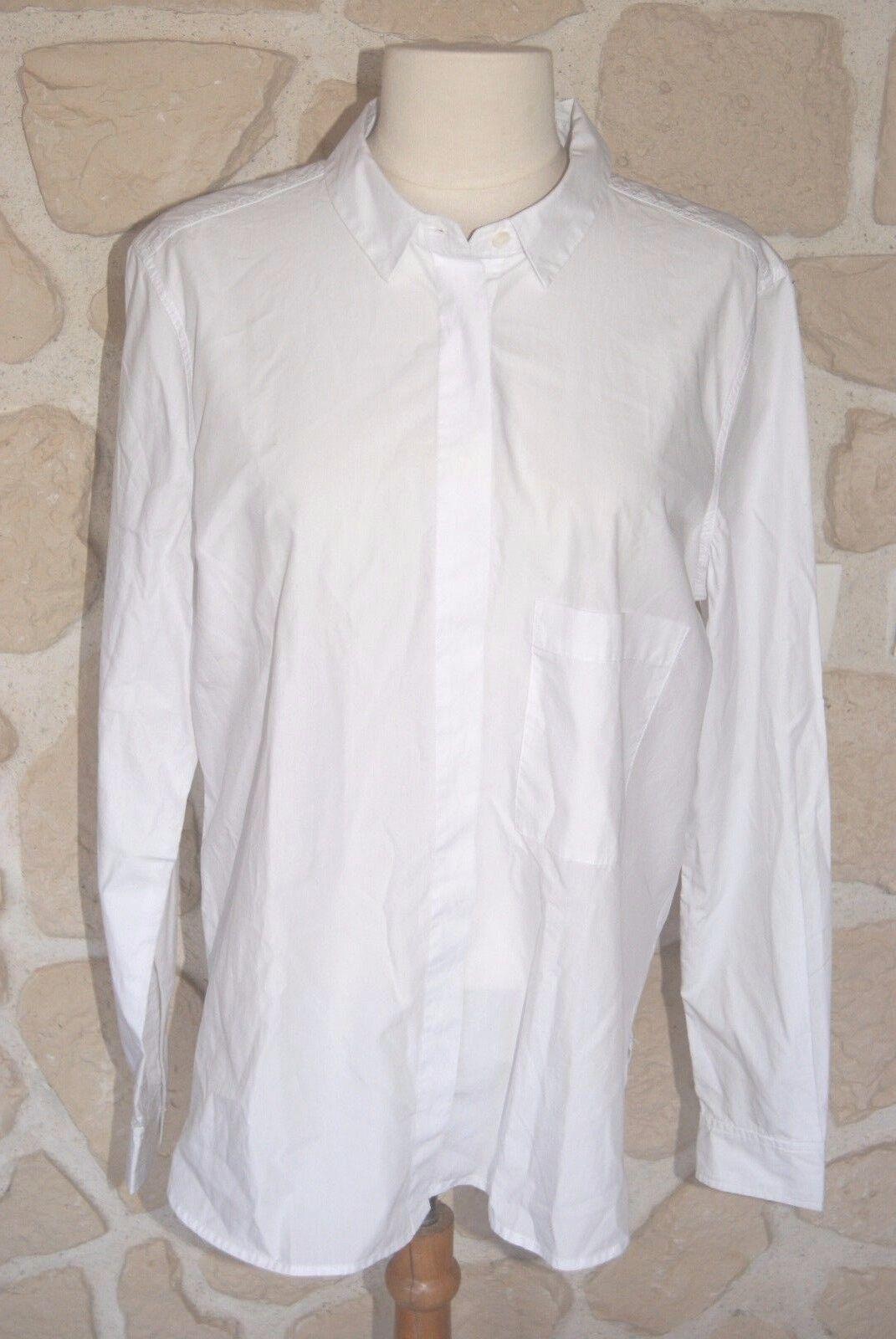 Chemise blanche neuve Dimensione M marque CLOSED étiqueté à