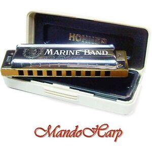 Hohner-Harmonica-1896-20-Marine-Band-Classic-SELECT-KEY-NEW