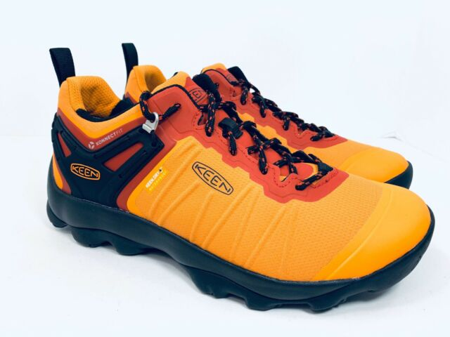 Keen Venture Waterproof Hiking Trail Shoe Dark Cheddar Raven Men's Size 8.5 $170