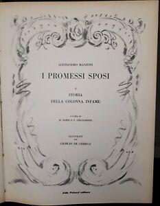 Alessandro-Manzoni-I-Promessi-Sposi-illustrati-da-Giorgio-De-Chirico-1964