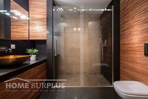 44 48 Quot W X 76 Quot H Sliding Glass Shower Door W Stationary