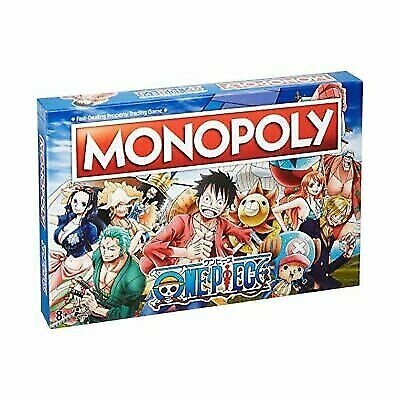 One Piece Monopoly Board Game ONE PIECE #NEW Winning Moves