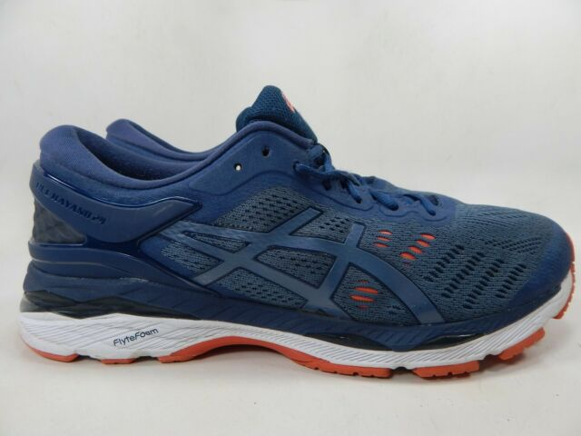 high quality guarantee outlet search for clearance ASICS GEL Kayano 24 Size US 10 Men's Running Shoes Blue T749N