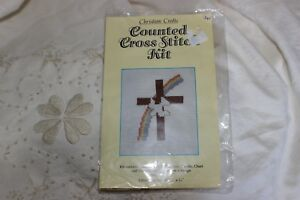 Counted-Cross-Stitch-Embroidery-Mini-Kit-Religious-Christian-Cross