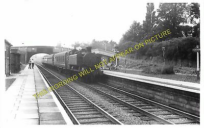 Gloucester 1 Churchdown Railway Station Photo GWR Cheltenham Midland Rly