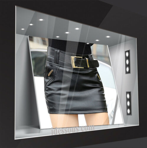 FERANI Designer Rock Business Kunstleder Clubwear Party Rot Rock XS S 34 36 38