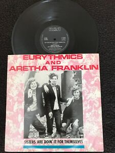 Eurythmics-And-Aretha-Franklin-Sisters-Are-Doin-For-Themselves-12-Vinyl-RCA
