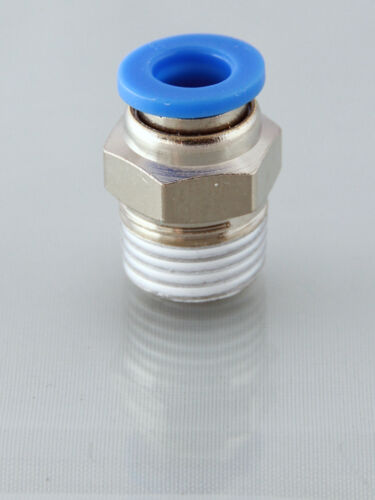 10mm  Straight Push in Fitting 1//2 Bsp Male