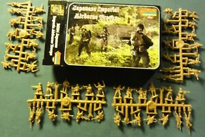 Strelets Models 1//72 IMPERIAL JAPANESE ARMY IN ATTACK Figure Set